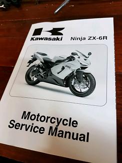 Kawasaki ZX6R (636) *****2006 Service Manual