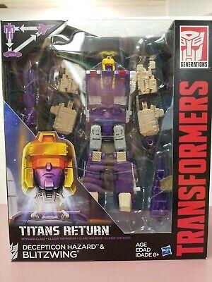 Transformers Titans Return Dreadnaut & Decepticon Overlord (Leader Class) New