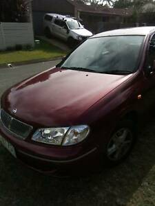 2000 Nissan Pulsar Q Automatic Sedan (With 10 months Free Rego)