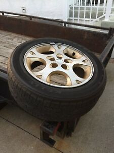 Tires off Chrysler Sebring