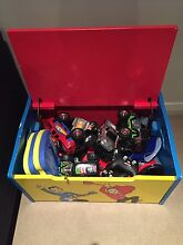 Kids toys and box Merewether Newcastle Area Preview