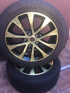 Tyres and Rims x 2. Dianella Stirling Area Preview