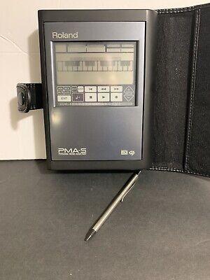 Roland Personal Music Assistant PMA-5 Sequencer Midi Module Sound Canvas