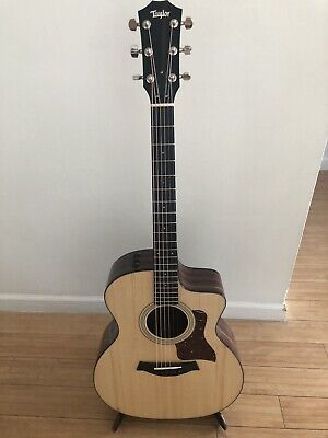 Taylor 214ce Plus Acoustic/Electric Guitar ONLY, No Case Or Stand.