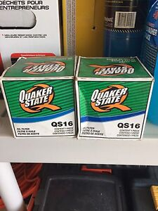 Quaker State oil filter QS 16 for FREE