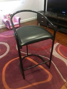 Black Bar Stools x 3 Corrimal Wollongong Area Preview