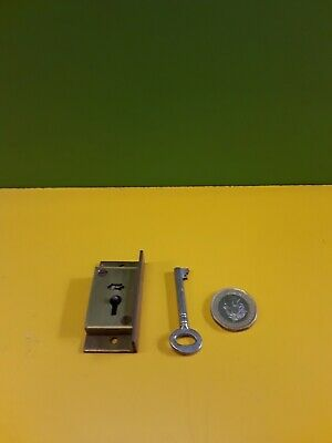 Solid brass  cut in  Cupboard Lock 2