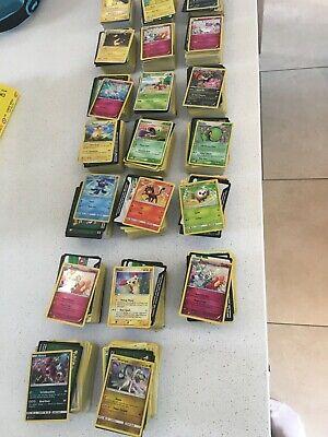 100 X Pokemon cards bundle (with shinies, EX Lvl X holo reverse holo) job lot GX