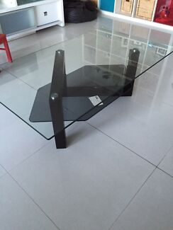 Glass top coffee table Tennyson Point Ryde Area Preview