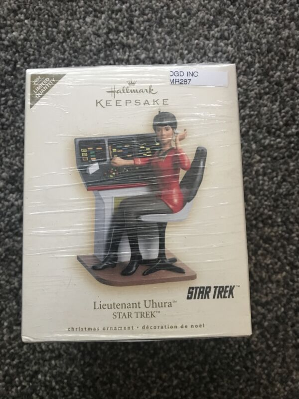 Hallmark Star Trek Lt. Uhura Christmas Ornament NEW! MR287