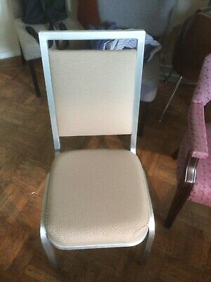 Lot Of 3 Used Banquetstack Chairs - Mts - 1560 Available Brand New Condition