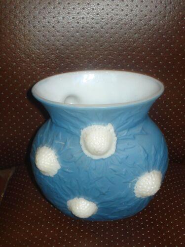 Consolidated Glass Phoenix Vase Jewel/ Original Label