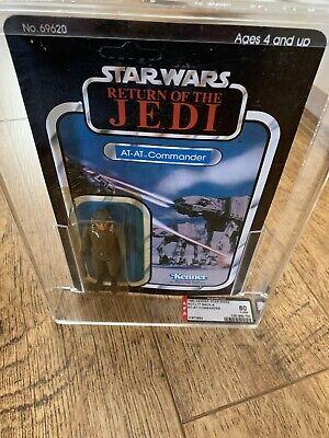 Vintage Star Wars AT-AT Commander Afa MOC Kenner 77 Back ROTJ