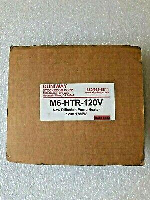 Duniway M6-htr-120v Diffusion Pump Heater. 120v 1785w.