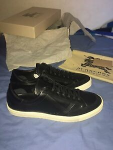 Burberry MENS Calf Skin Leather Sneakers Size 11 Fairfield Heights Fairfield Area Preview