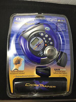 NEW Aiwa XP-SP911 Cross Trainer Sport Portable CD Player Headphones A1