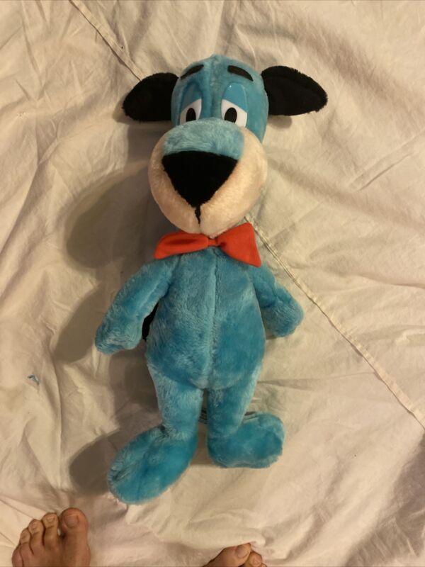 "2001 Hanna Barbera Cartoon Network Huckleberry Hound 19"" Plush W/Tag"
