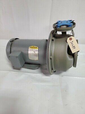 Goulds G L Series 1 X 2 6 Centrifugal Pump 80 Gpm 30 Tdh 2 Hp 230460
