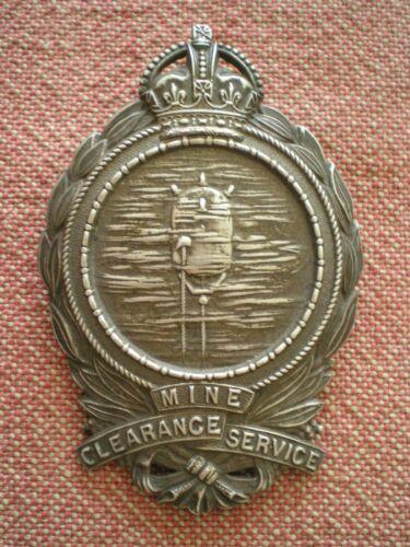 WW1 Mine Clearance Service Badge