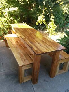 PALLET FURNITURE - Narrow Rustic Kitchen-dinning-Outdoor Table