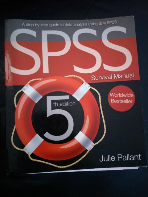 Spss Survival Manual Textbooks Gumtree Australia Brisbane South