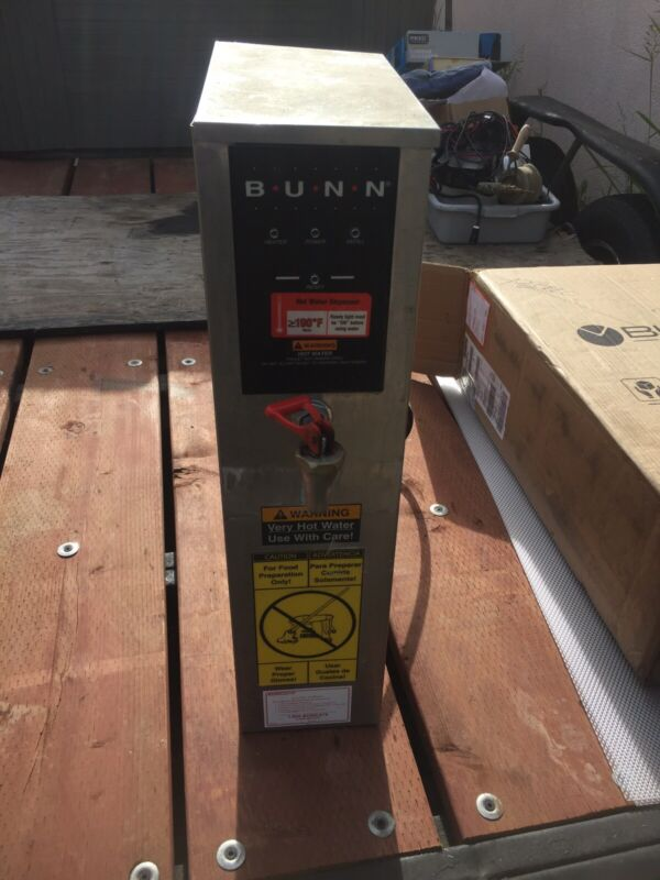 Bunn Hot Water Dispenser Used 208 Volt.