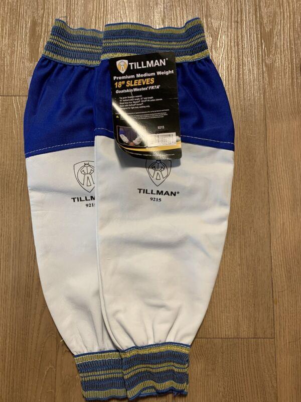 Tillman 9215 Leather Welding protective Sleeves pair Flame retardant cotton FR