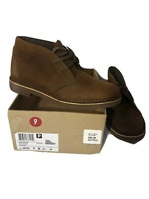 CLARKS ACRE BRIDGE WOMENS LEATHER BOOTS TAN LEATHER SIZE US 9 BRAND NEW