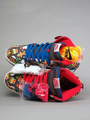 Nike SB Dunk High TRD QS Ugly Sweater Christmas 881758 446 Size 10