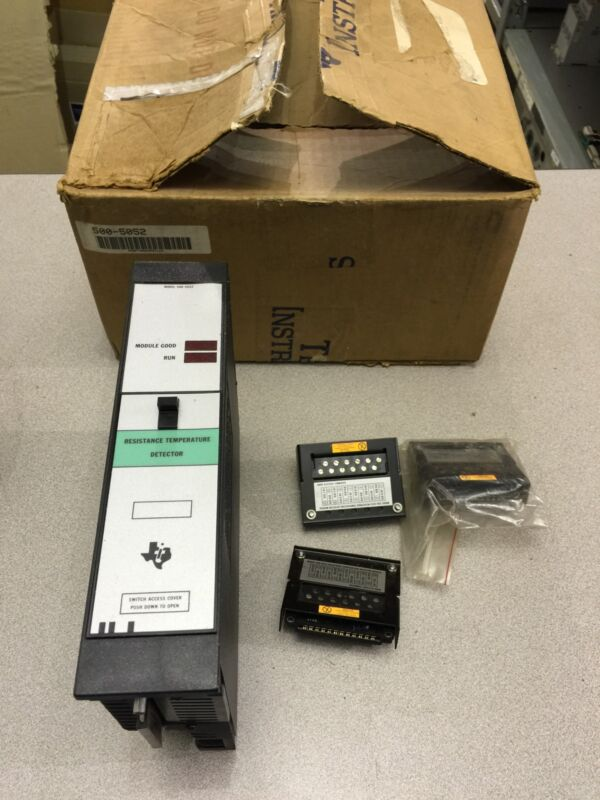 NEW IN BOX SIEMENS TEXAS INSTRUMENTS  RESISTANCE TEMPERATURE DETECTOR 500-5052