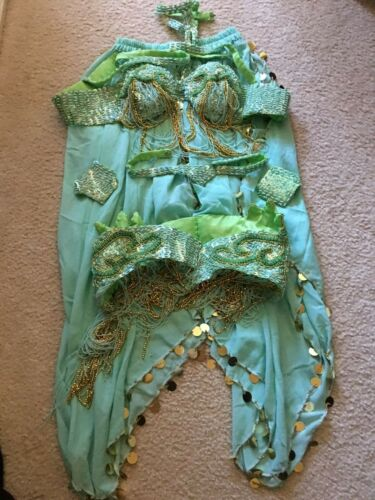 Professional Belly Dancer Outfit Exotic Performer Dancewear 6 Pieces from Greece