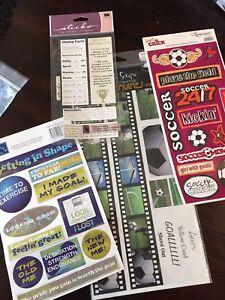 Sports Themed Scrapbooking Supplies