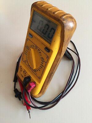 Di-log Dl183 Automotive Multimeter Digital Meter Wrubber Case Volts Ohms Amps