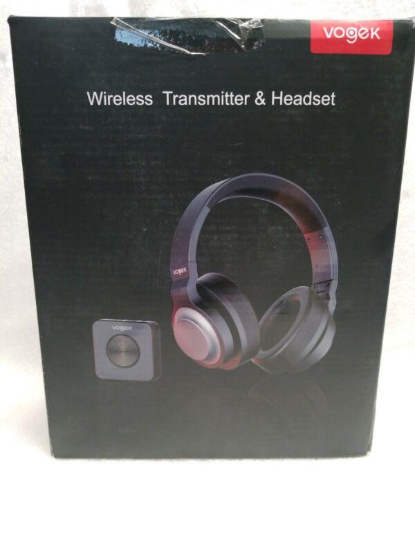Vogek Bluetooth TV Headset with Bluetooth Transmitter