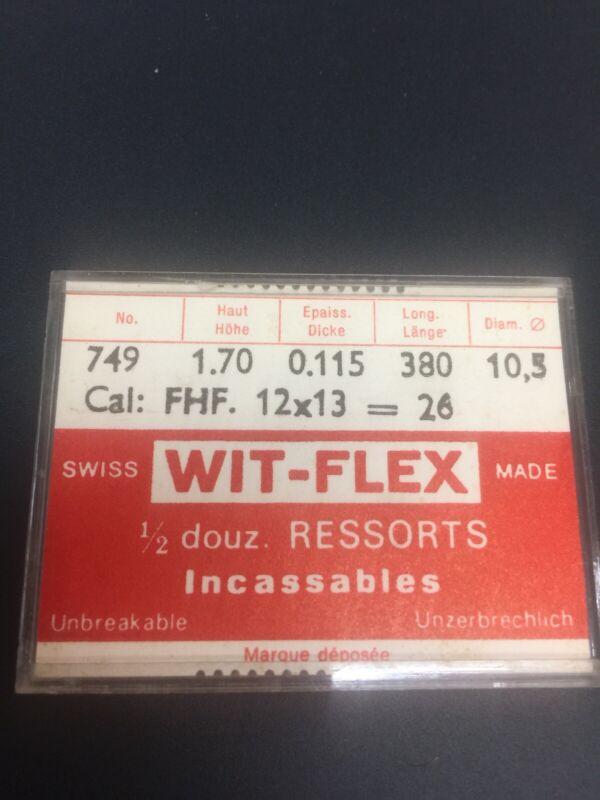 FHF+Caliber+26+Mainspring+New+Swiss+Made