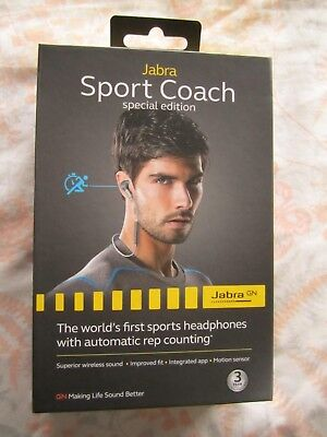 Jabra Sport Coach Special-Edition Wireless Bluetooth Stereo Earbuds for sale  Flushing