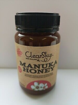 ClearSky NZ Manuka Honey MGO 250+ 500g Jar New Zealand 100% Pure
