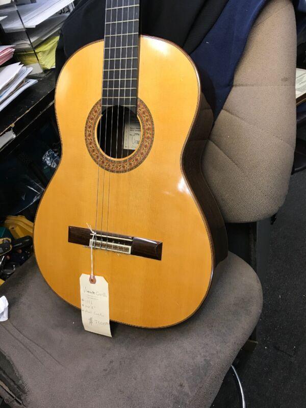vintage classical acoustic guitar