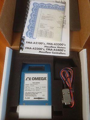 Omega Fma-a2406 Mass Flowmeter Controller N2 1 Slpm New Warranty