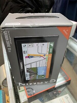 "Garmin Drive 61 EX 6"" Screen GPS Navigator - NEW!!"