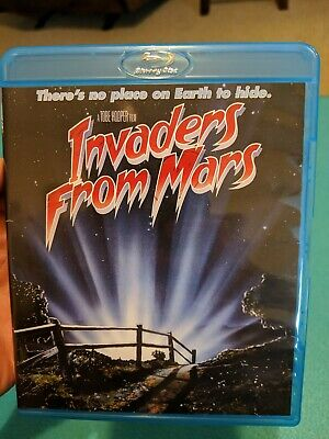 Invaders From Mars (Blu-ray) SCREAM FACTORY! Tbe Hooper! OOP HORROR!