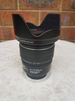 Canon Efs 15-85mm Lens 3.5-5.6 IS USM