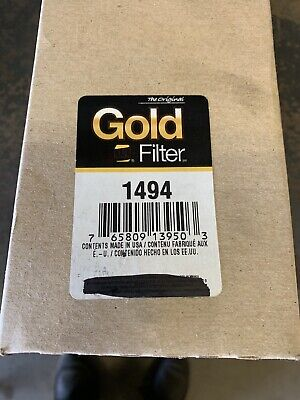 Napa 1494 Gold Hydraulic Oil Filter New In Box Trucks Cars Pumps Generators
