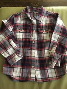 H&M flannel shirt for 4yo