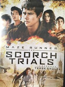 The Scorch Trials DVD