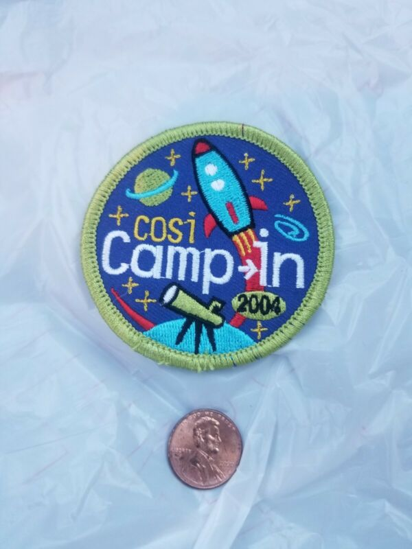 2004 COSI Camp In Patch Boy Girl Scouts