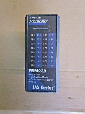 Foxboro Invensys Ia Series Fbm239 Module 6121250g Used