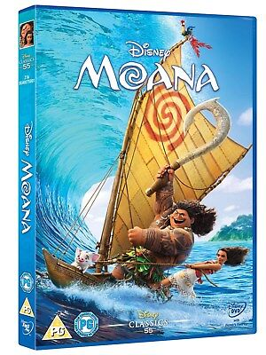 Moana (Disney) [DVD] for sale  Shipping to Ireland