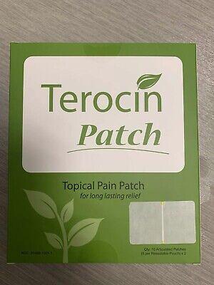 Terocin Patch Topical Pain Patch Lidocaine 4%, Menthol  4%