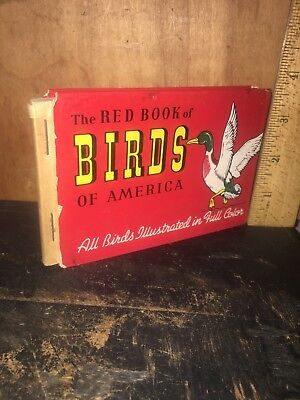 The Red Book Of Birds Of America, Pocket Version 1931. Frank Ashbrook